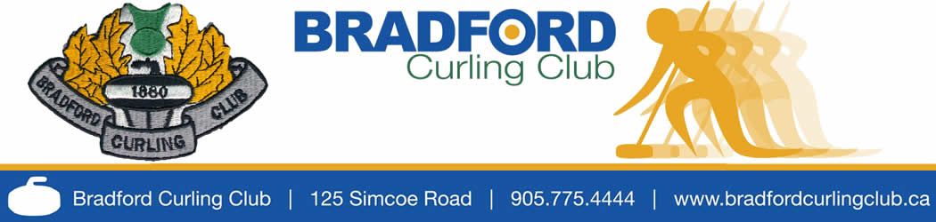 Bradford Curling Club banner